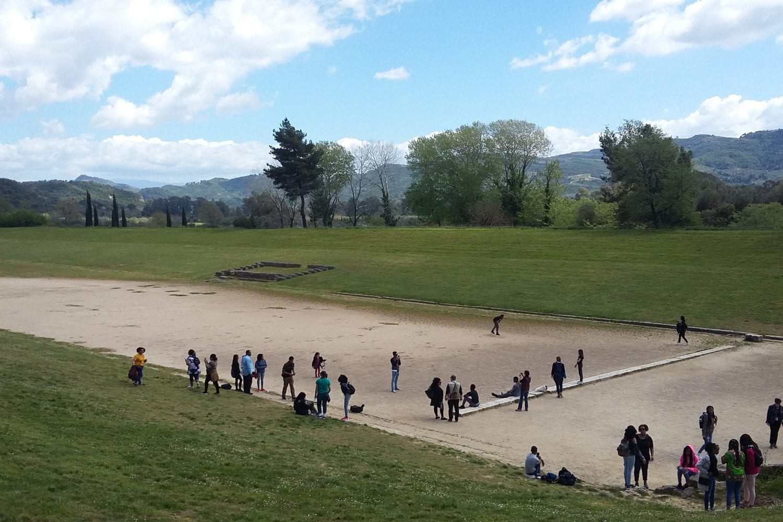 ancient stadium of Olympia