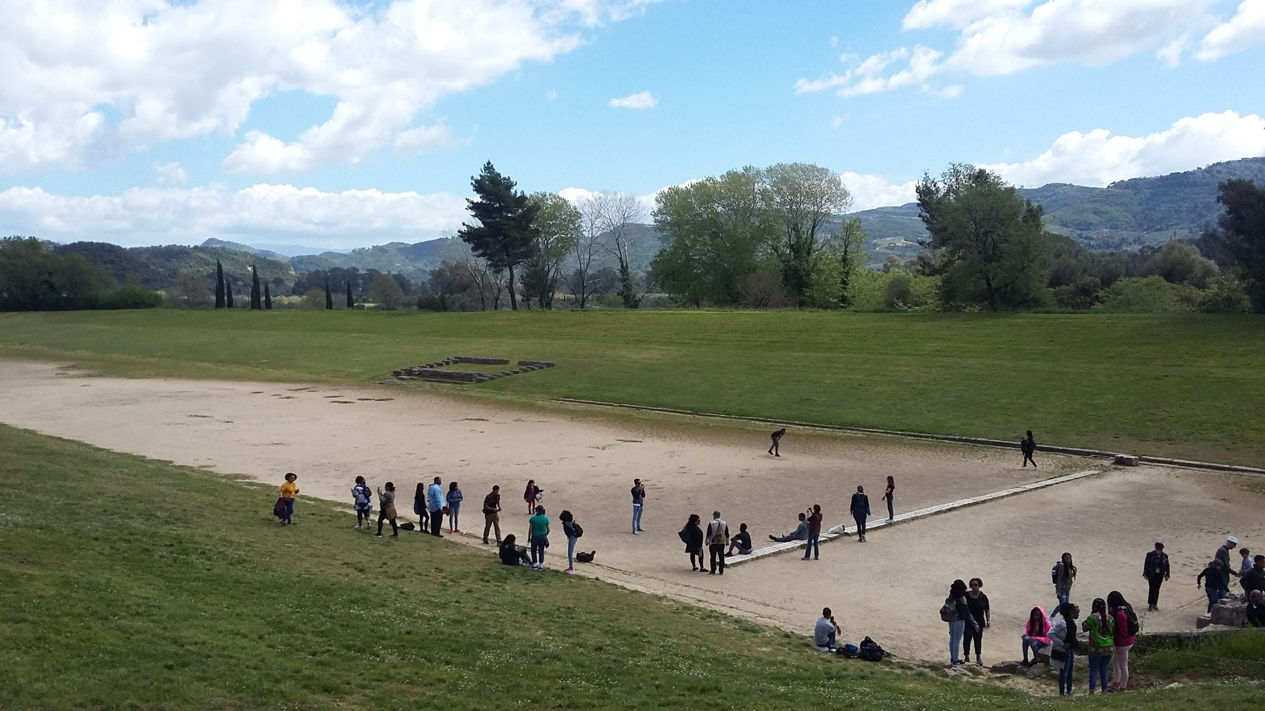 ancient stadium of Olympia